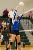 Cornerstone Charter Ducks @ Oak Ridge Pioneers Girls Varsity Volleyball - 2014- DCEIMG-4661
