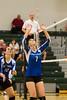 Cornerstone Charter Ducks @ Oak Ridge Pioneers Girls Varsity Volleyball - 2014- DCEIMG-4659