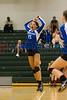 Cornerstone Charter Ducks @ Oak Ridge Pioneers Girls Varsity Volleyball - 2014- DCEIMG-4674