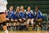 Cornerstone Charter Ducks @ Oak Ridge Pioneers Girls Varsity Volleyball - 2014- DCEIMG-4343
