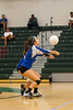 Cornerstone Charter Ducks @ Oak Ridge Pioneers Girls Varsity Volleyball - 2014- DCEIMG-4462