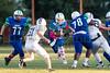 Citrus Park Christian @ Cornerstone Charter Academy Ducks Varsity Football   -  2014 - DCEIMG-9370