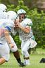 Cornerstone Charter Academy Ducks Varsity Football Team Scrimmage 2014 DCEIMG-9777