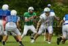 Cornerstone Charter Academy Ducks Varsity Football Team Scrimmage 2014 DCEIMG-9782