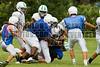 Cornerstone Charter Academy Ducks Varsity Football Team Scrimmage 2014 DCEIMG-9792