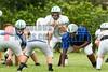 Cornerstone Charter Academy Ducks Varsity Football Team Scrimmage 2014 DCEIMG-9776