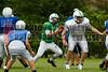 Cornerstone Charter Academy Ducks Varsity Football Team Scrimmage 2014 DCEIMG-9783