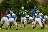 Cornerstone Charter Academy Ducks Varsity Football Team Scrimmage 2014 DCEIMG-9781