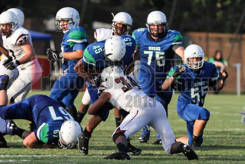 Pembrook Pines Charter @ CCA Ducks Varsity Football   -  2015 - DCEIMG-9908