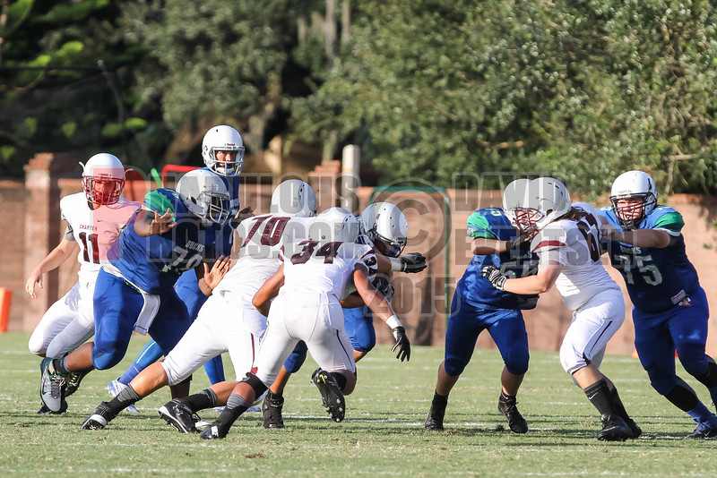 Pembrook Pines Charter @ CCA Ducks Varsity Football   -  2015 - DCEIMG-9827