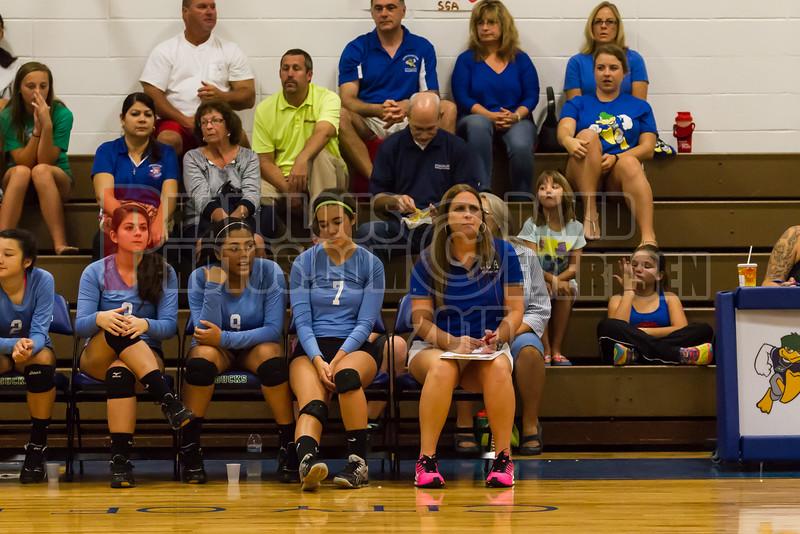 Forrest Lake @ CCA Ducks Girls Varsity Volleyball - 2015 - DCEIMG-7964