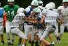 Cornerstone Charter Academy Ducks Varsity Football Team Scrimmage 2014 DCEIMG-9963
