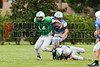 Cornerstone Charter Academy Ducks Varsity Football Team Scrimmage 2014 DCEIMG-9995