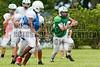 Cornerstone Charter Academy Ducks Varsity Football Team Scrimmage 2014 DCEIMG-9987