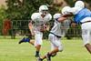 Cornerstone Charter Academy Ducks Varsity Football Team Scrimmage 2014 DCEIMG-9999