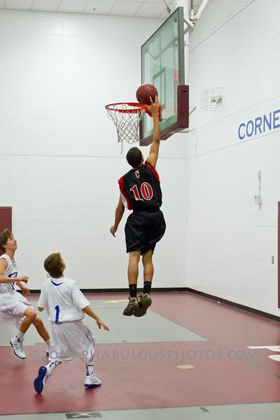 Colonial @ Cornerstone Charter Boys Varsity Basketball - 2012  DCEIMG-1148