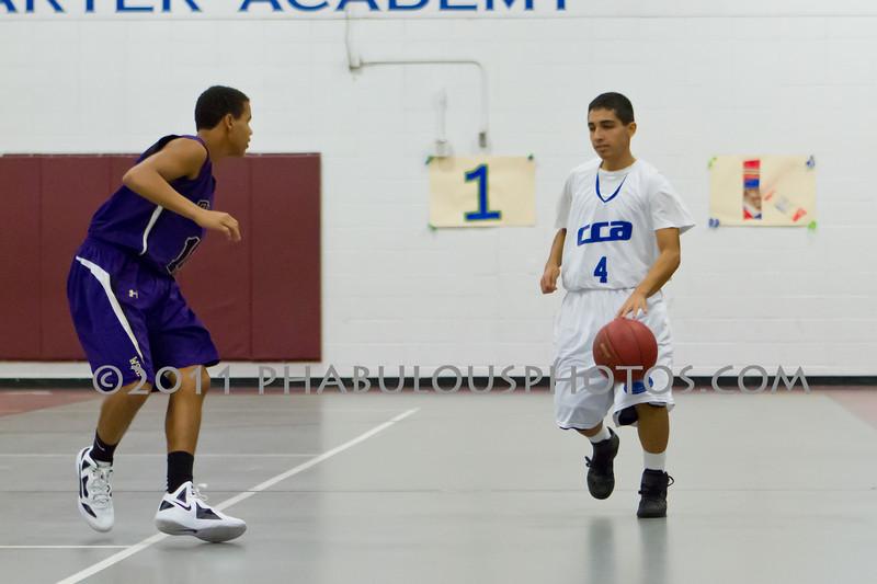 Winter Springs  @ Cornerstone Charter Boys JV Basketball  - 2011 DCEIMG-8478