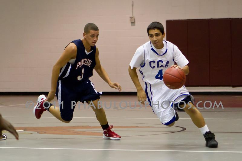 Poincianna @ Cornerstone Charter Academy Boys Varsity Basketball - 2011 DCEIMG-6249