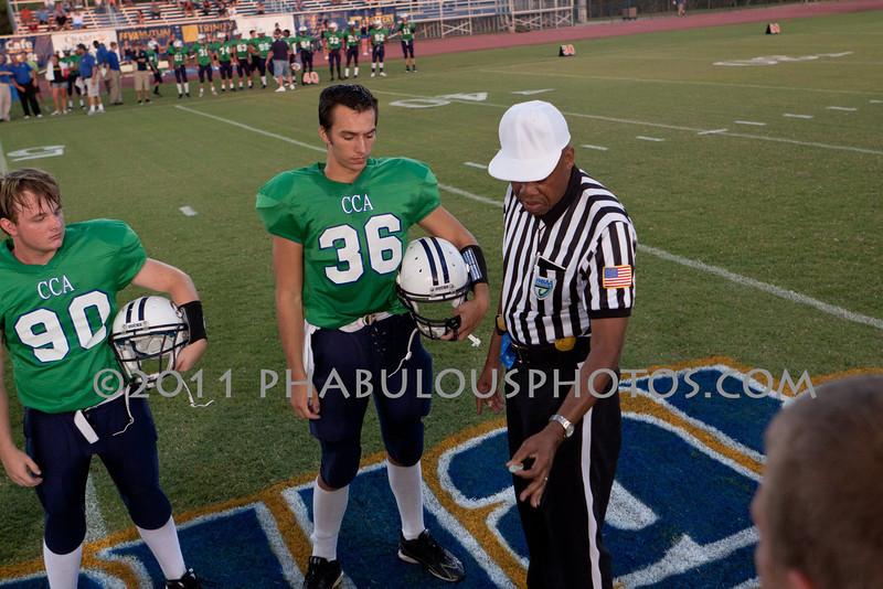 Cornerstone Charter Academy @ TFA Royals Varsity Football - 2011 DCEIMG-0692