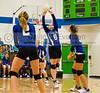 Orlando Christian Prep Warriors @ Cornstone Charter Academy Ducks Girls Varsity Volleyball - 2013 - DCEIMG-7151
