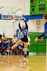 Orlando Christian Prep Warriors @ Cornstone Charter Academy Ducks Girls Varsity Volleyball - 2013 - DCEIMG-7105