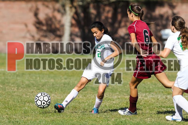 Lake Mary Prep @ Cornerstone Charter Academy Ducks Girls-Boys Varsity Soccer - 2014 - DCEIMG-9117