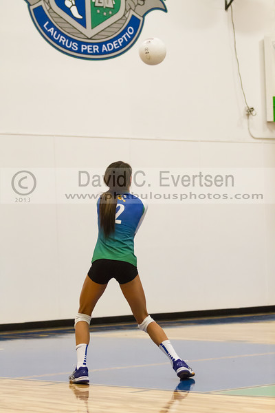 Faith Christian @ Cornerstone Charter Girls Varsity Volleyball - 2013 - DCEIMG-1066