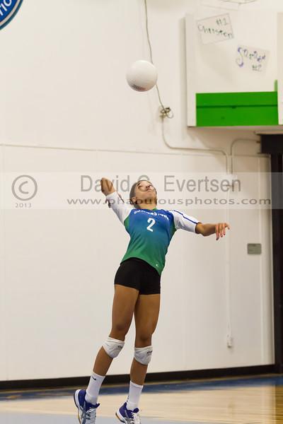 Faith Christian @ Cornerstone Charter Girls Varsity Volleyball - 2013 - DCEIMG-1058