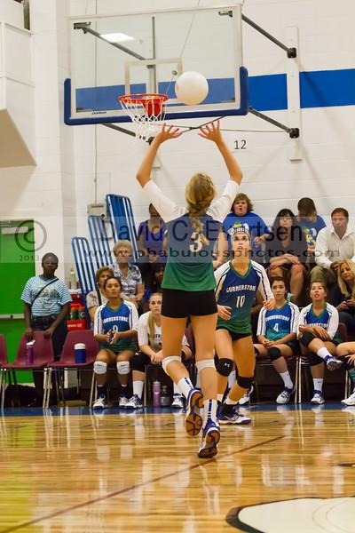 Faith Christian @ Cornerstone Charter Girls Varsity Volleyball - 2013 - DCEIMG-1051