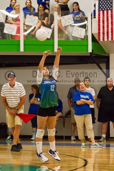 Faith Christian @ Cornerstone Charter Girls Varsity Volleyball - 2013 - DCEIMG-1064