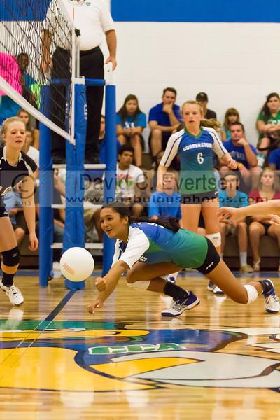 Faith Christian @ Cornerstone Charter Girls Varsity Volleyball - 2013 - DCEIMG-0983