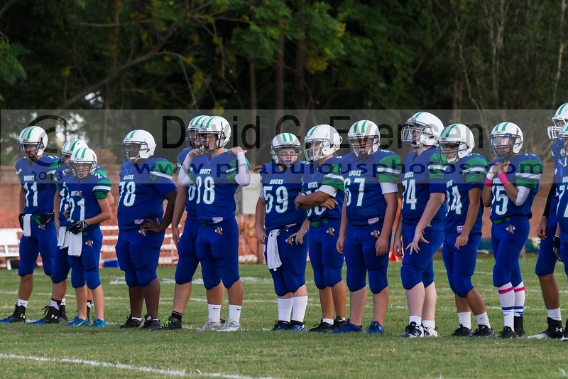 All Saint Academy @ Cornerstone Charter Academy Ducks Varsity Football -  2013 - DCEIMG-9647