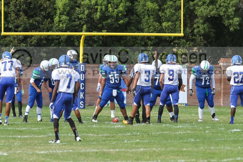 Orlando Christian Prep Warriors @ Cornerstone Charter Academy Ducks Varsity Football - 2013 - DCEIMG-7582