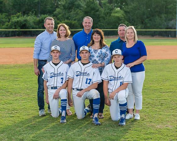 Cornerstone Charter Academy Varsity Baseball Senior Honors