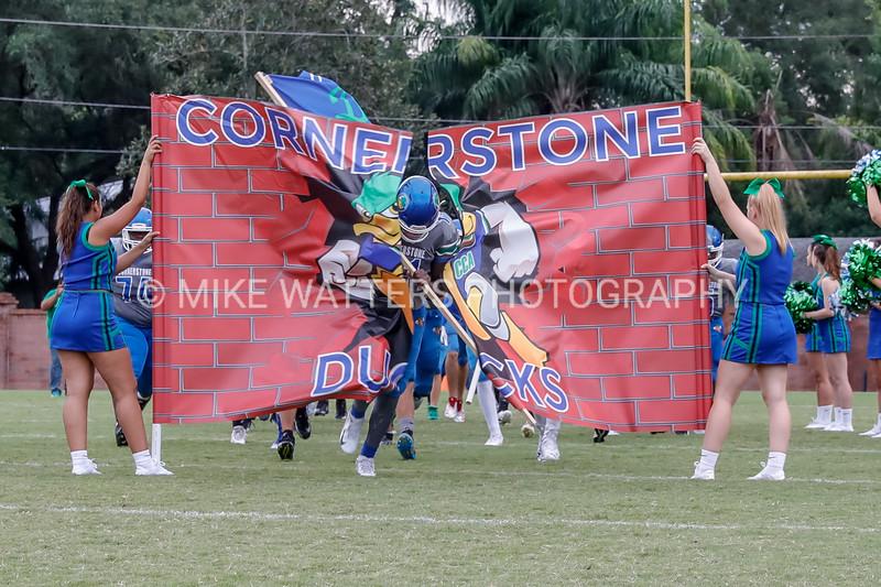 HS Football: Cornerstone Charter Host Keswick Christian