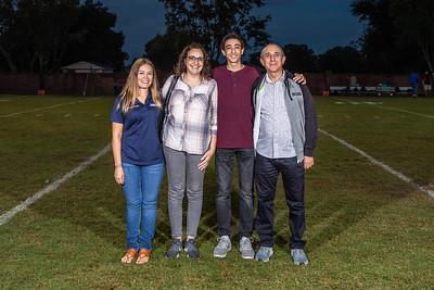 HS Football: Cornerstone Charter Honor Seniors
