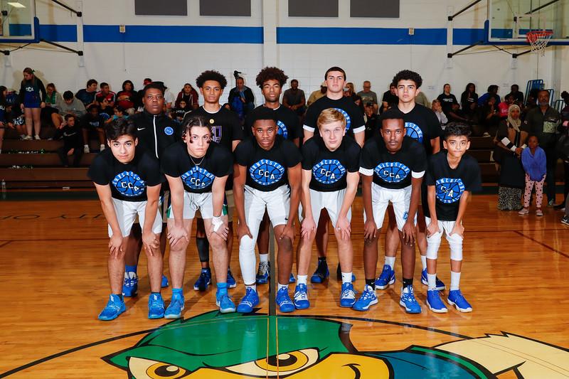 HS Basketball: Cornerstone Charter Academy Honor Seniors