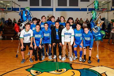 HS Soccer: Cornerstone Charter Academy Honor Seniors
