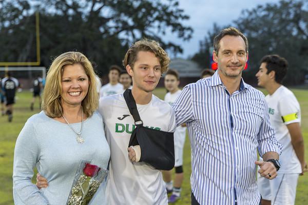 Cornerstone Charter Academy Varsity Soccer Honors Graduating Seniors 2017-18