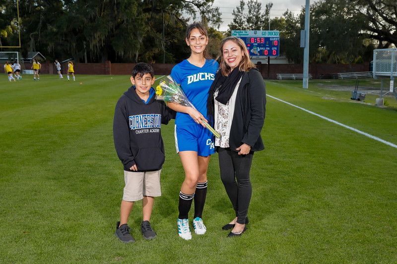 HS Soccer: Cornerstone Charter Women's Soccer Honor Seniors