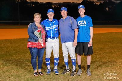 HS Baseball: Cornerstone Charter Honor Seniors