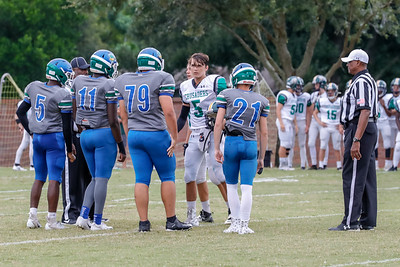 HS Football: Cornerstone Charter Host Keswick Christian