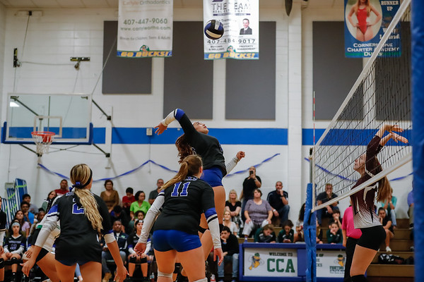 HS Volleyball: Cornerstone Charter host Real Life Christian