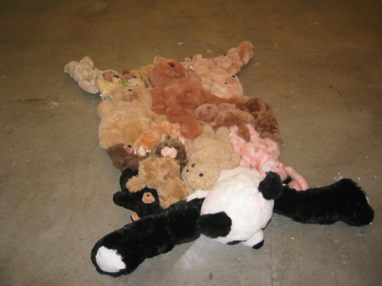 Surgical bear mat