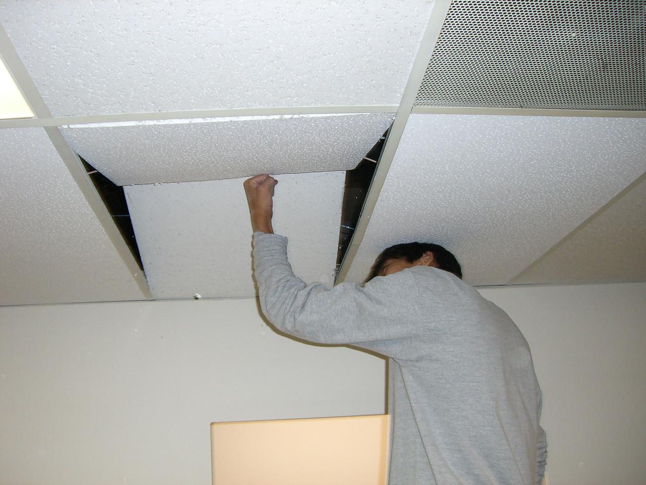 Doug Kang spreading the asbestos joy