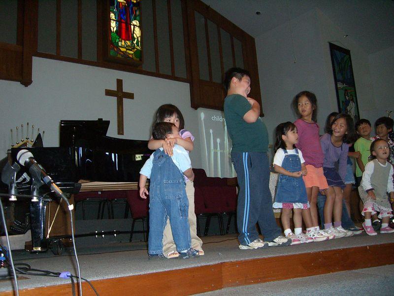 2005 09 18 Sun - Children's Message 1 - bouncers