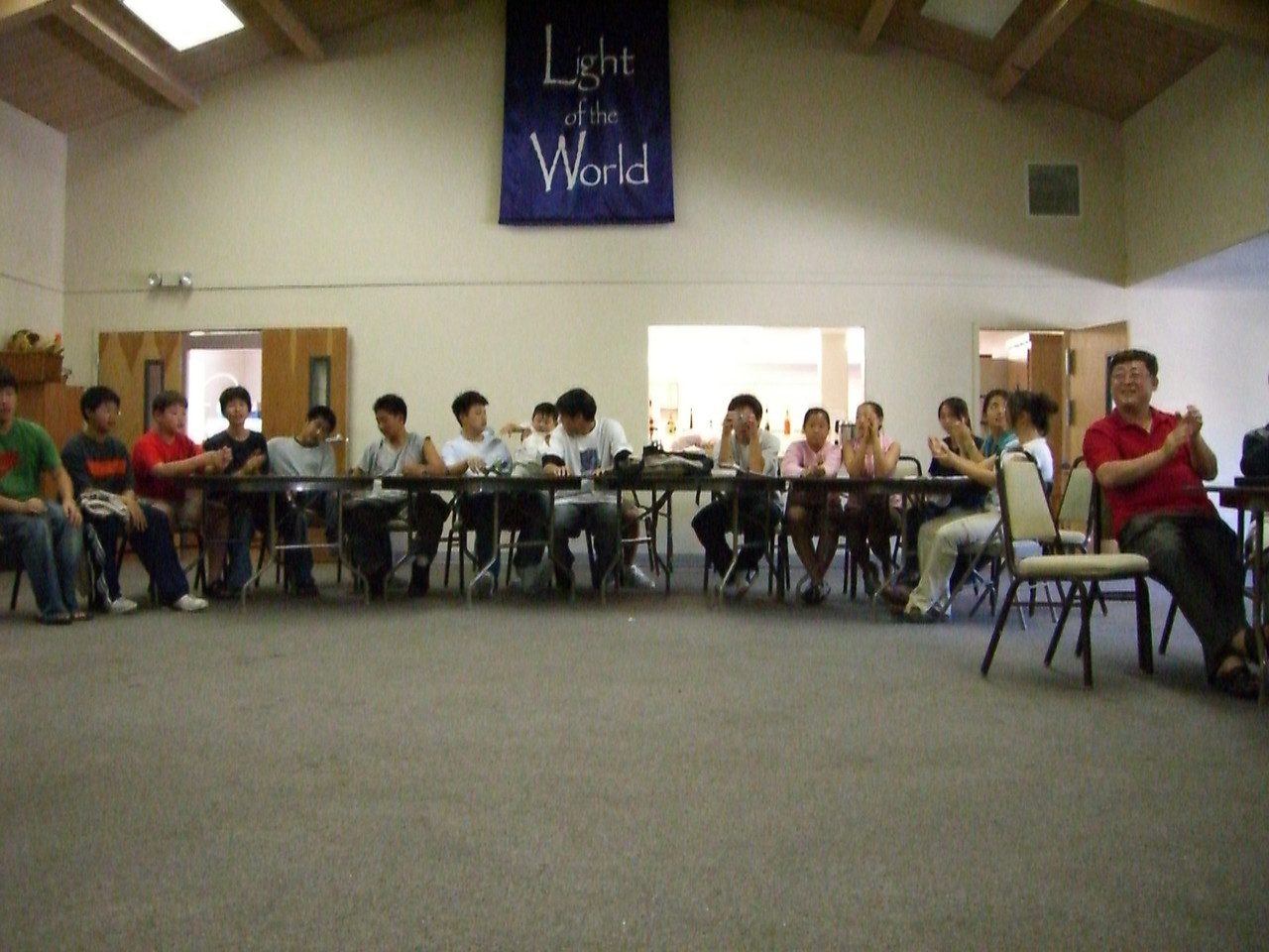 2005 09 18 Sun - Purpose Driven Life Bible quiz - Clay Youth Group team 3