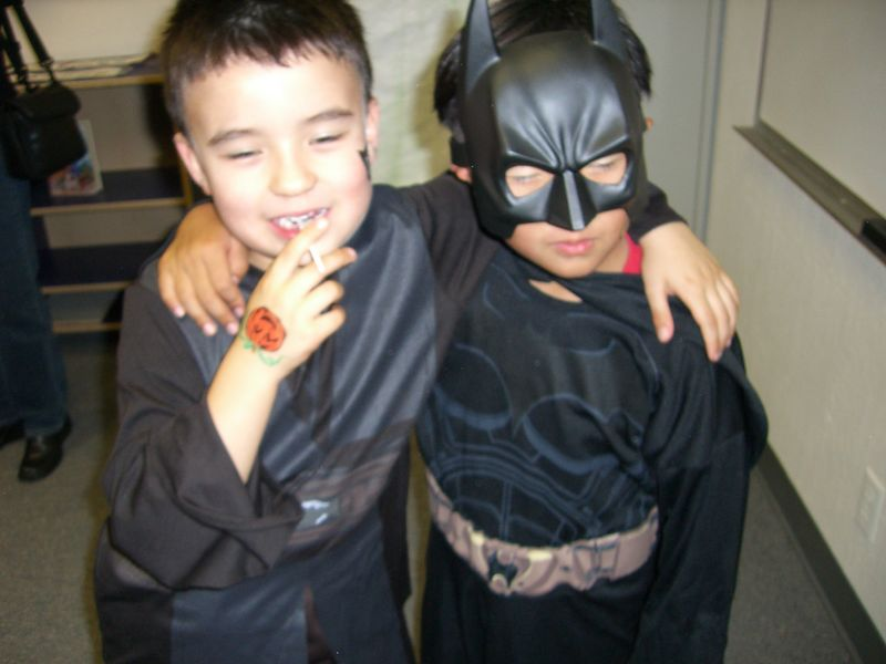 Frank-Joseph Obi Wan and Batman have always been buddies