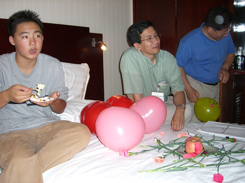 2006 07 15 Sat - Alice Tung's surprise b-day - Philip Lee, Wonjae Kang, & Baxon Kim