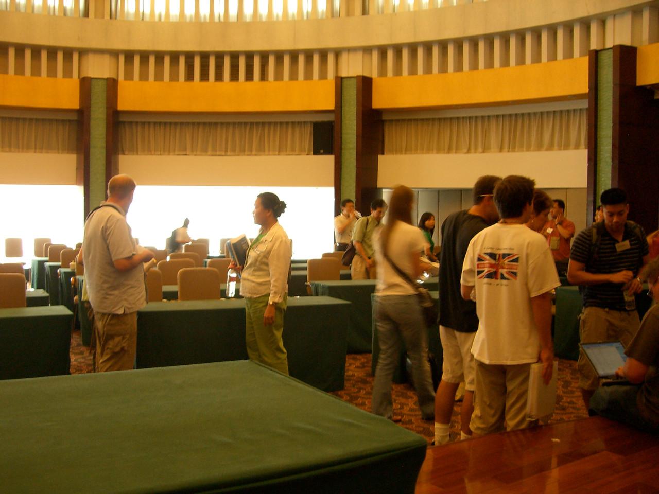 2006 07 15 Sat - Yong Jiang Hotel conference room 2